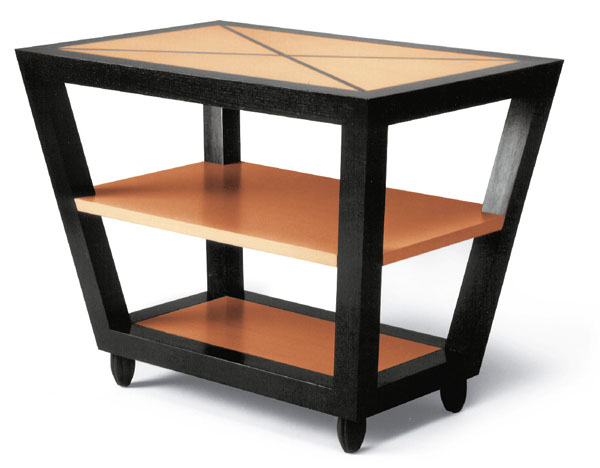 DEMILLE SIDE TABLE - RECTANGULAR