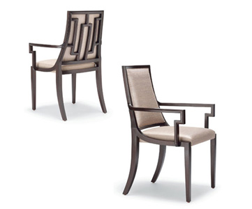FAREMONT DINING CHAIR - UPHOLSTERED BACK