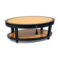 DEMILLE COFFEE TABLE - OVAL