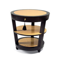 DEMILLE SIDE TABLE - ROUND