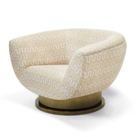 HARPER SWIVEL CHAIR - NO TUFTING