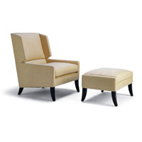 LANCASTER WING CHAIR & OTTOMAN